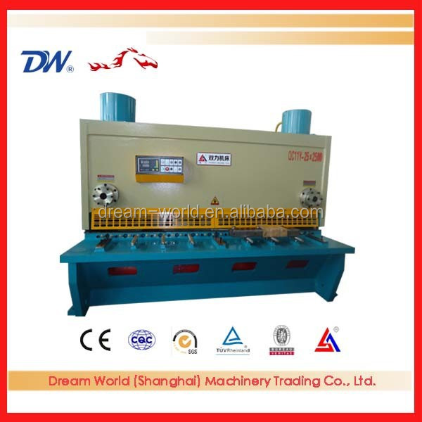 Prompt delivery guillotine shearing machine, metal plate shears,cnc steel sheet shearing machine