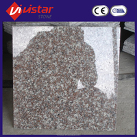 Offcie exterior red brick wall tile granite stone