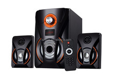 shenzhen 2.1 multimedia active speaker system for computer with certification made in China