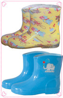 203 PVC kids rain boots chinese popular manufacturer