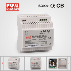 China manufacturer DR-60-24 60w Din Rail 24V 2.5A Switching Power Supply/220V ac 24v dc single output