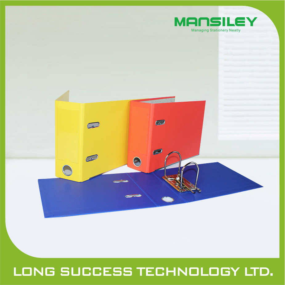office stationery a3 2 rings lever arch file with double pvc cover