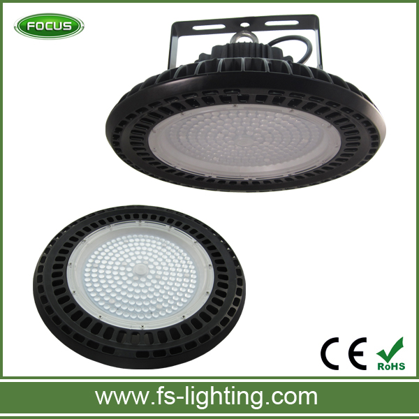 Aluminum Lamp Body and IP65 Rating 200w industrial led ufo high bay light 150w and 200w ufo hot one
