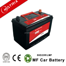 high quality matrix brand 55D23LMF price mf truck lead acid automotive battery 12v 60ah Korea