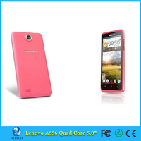 Lenovo A656 MTK6589 Rooted Quad Core mobile phone 5'' IPS Camera Mobile Phone Smartphone Russian