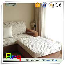 Fancy luxury heavy jacquard polyester fabric for classic sofa cover, cushion, bedding