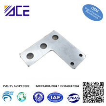Custom Aluminum Stainless Steel Metal Flat L Shape Bracket