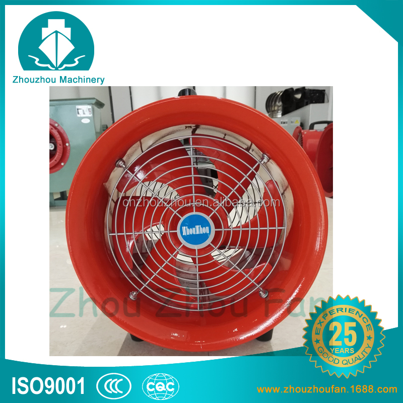 12 Inch 300MM Ventilation Fan Dust Fume Extractor Portable Propeller Ventilator Air Extractor