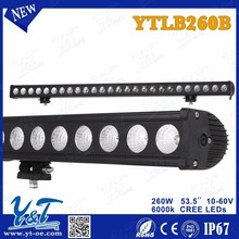 Y&T 2014 News! 53.5 inch 20W LED Light Bar off road heavy duty, indoor, factory,suv military,agriculture,marine,mining work