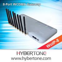 8 SIM Cards 3G VoIP Gateway, WoIP-8