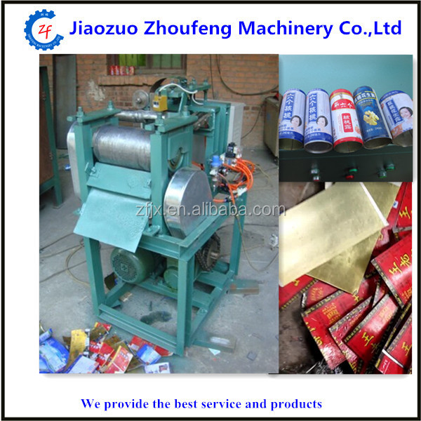 Pop can iron sheet press machine