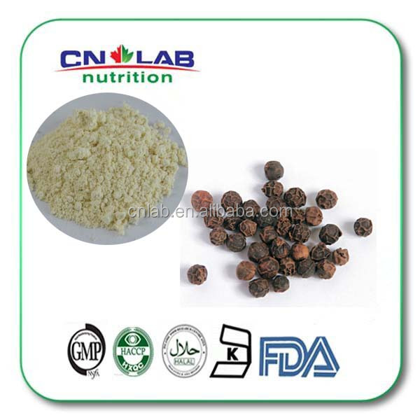 factory supply top quality Piper nigrum extract / Piperine