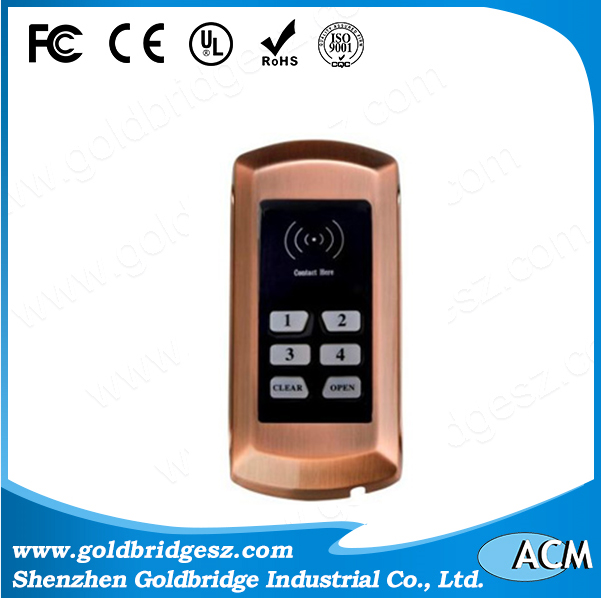 China Leader Hotel lock with good quality fingerprint lock diary