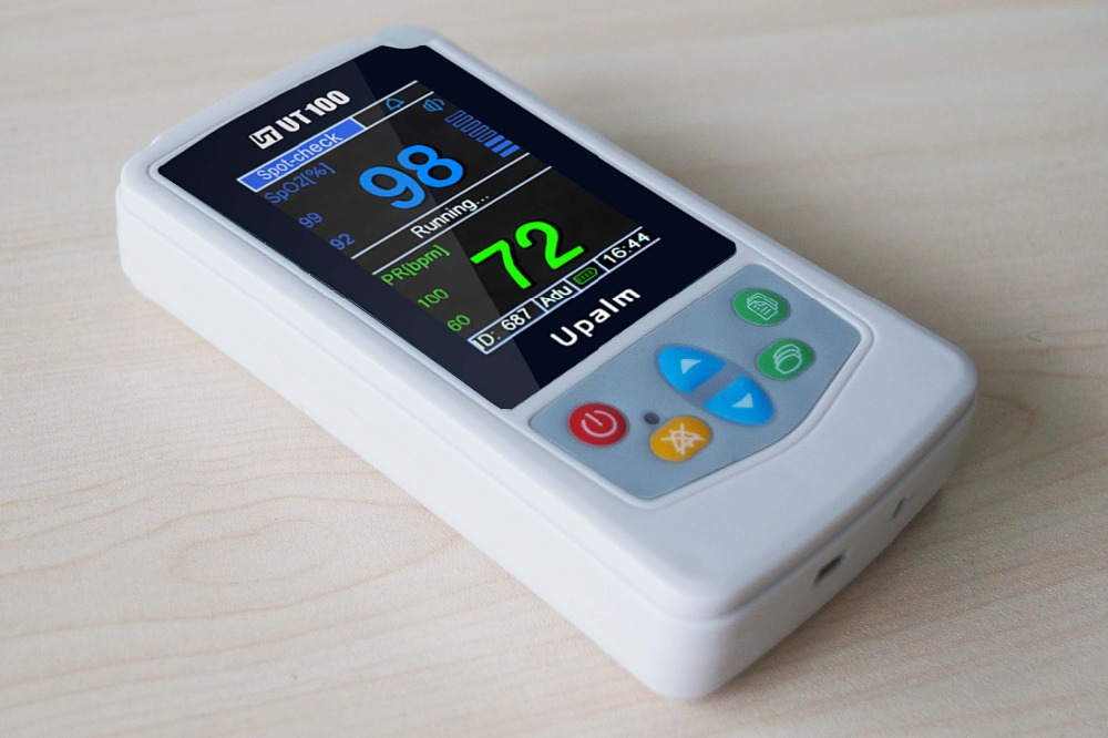 New White Color UT100 Handheld Pulse Oximeter with CE Approval