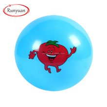 RUNYUAN Toy Ball Mini Inflatable Football for Child as Gift,Blue,PVC Ball,Beach Volleyball