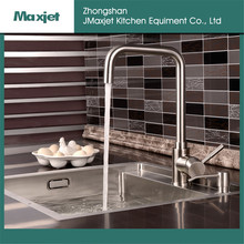 New model deck mounted stainless steel kitchen faucet