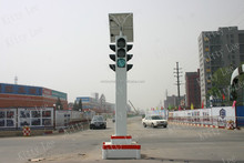 Solar Energy Central Police Box Traffic Light