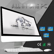 High quality all in one computer 23.8 Al in one PC quad core J1900 al in one mini pc