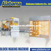 Good quality warranty engineering construction QT4-15 shandong automatic block machine
