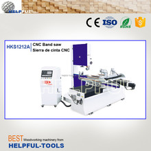 Helpful Brand Shandong Weihai CNC vertical band sawmill wood cutting machine HKS1225A HKS1212A band saw blade welding machine