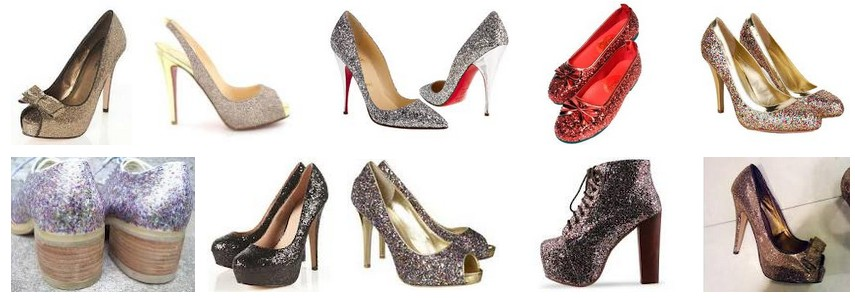 free sample available blingbling chunky glitter fabric for shoes