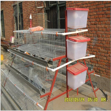3 tiers or 4 tiers,Layer chicken cage Type and Low Carbon Steel Wire Material large chicken cage