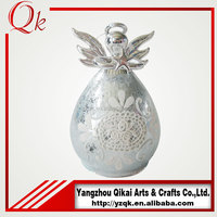 hot sale glass angels glass crafts in america and europe