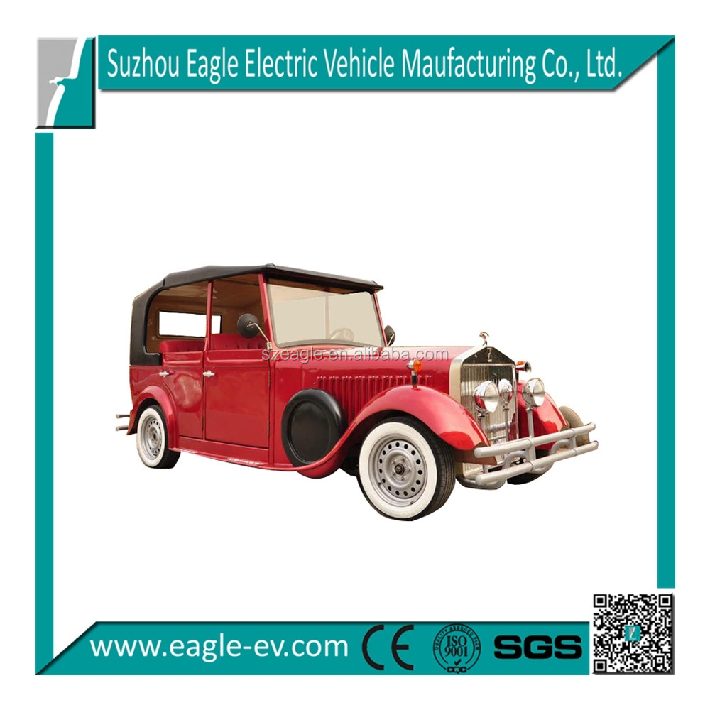 6 seats fashionable electric classic car