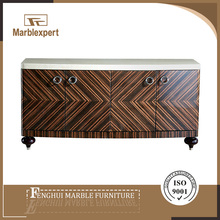 New design marble paper kitchen sideboard