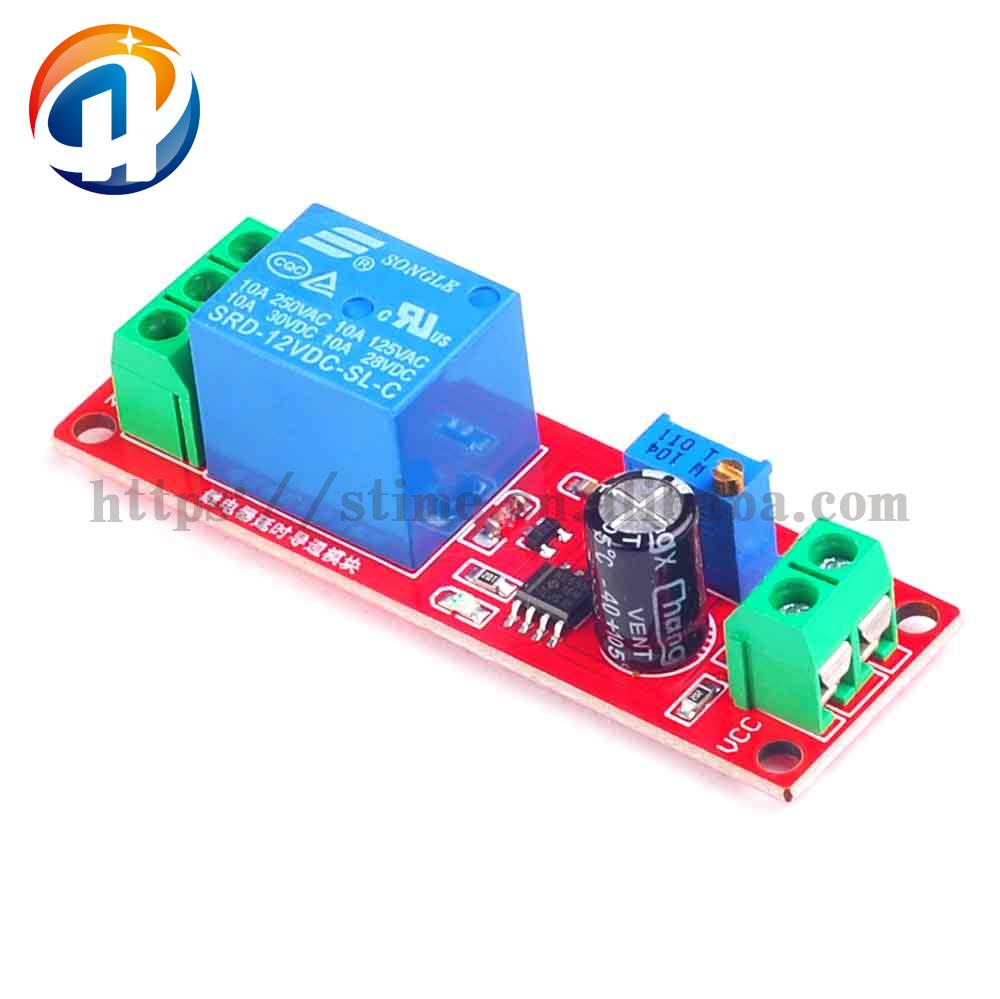 DC 12V Delay Timer Switch Adjustable Module 0 to 10 Second Promotion