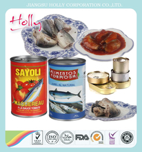 Best canned jack mackerel from China with competitive price 425g