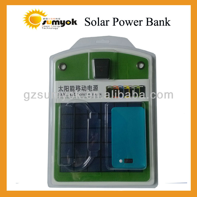 OS-OP041A New design mobile phone travel emergency solar panel charger 4w