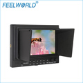 DC-12V TFT LCD HD Monitor 7 Inch with Rechargeable Battery 5D II Camera Mode