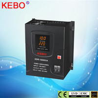 KEBO wall mount type digital display voltage stabilizer 10kva