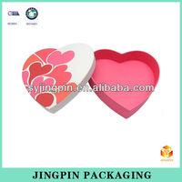 wholesale pink heart shape gift box