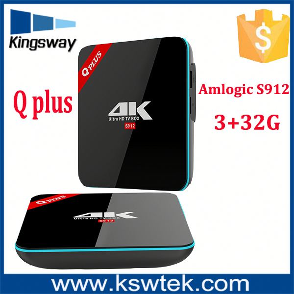 Professional factory provided 3/32gb kd player 16.1 q plus 4k android iptv arabic tv box