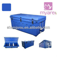 120L high quality rotomolded marine ice bin cooler