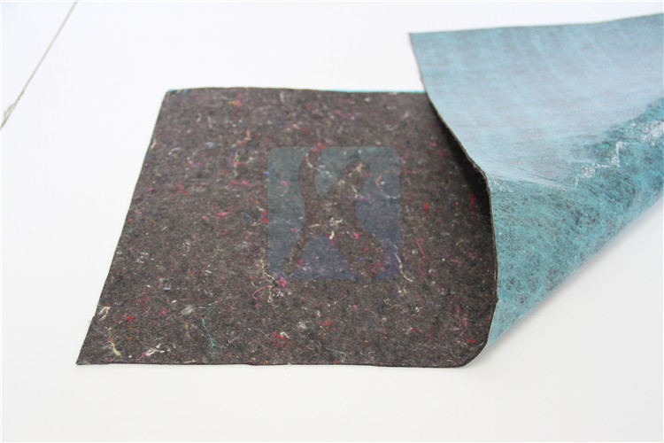 Cheap Anti-slip flooring felt mat underlay padding