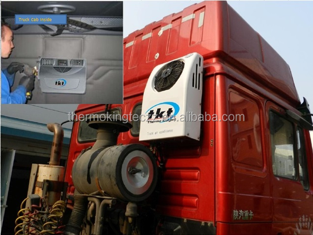 ac battery air conditioner for trucks