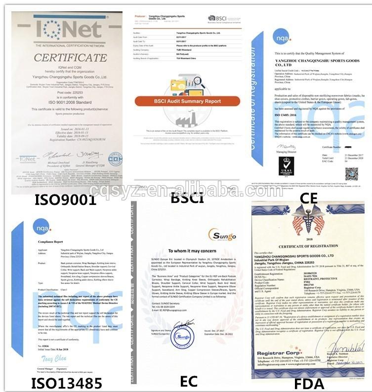 Article 6021 ceinture de soutien de taille haute qualité soutien du bas du dos