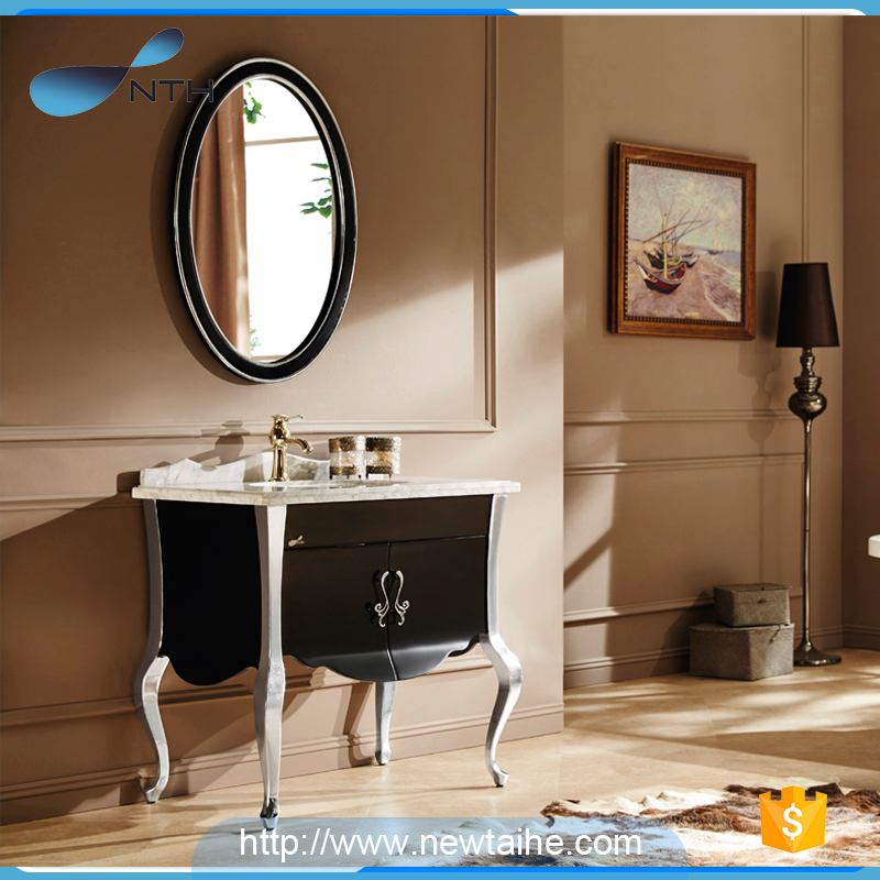 NTH online shopping european style custom modern liquidation rv makeup mirror led furniture bath vanity