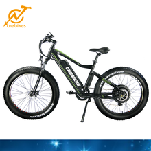 26inch Fat Tire Electric Bike/Bicycle, Beach Sport Ebike 8fun Bafang Motor Fat Tire Electric Bike