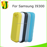 Sublimation soft rubber phone case for samsung S3 9300 sublimation mobile cover