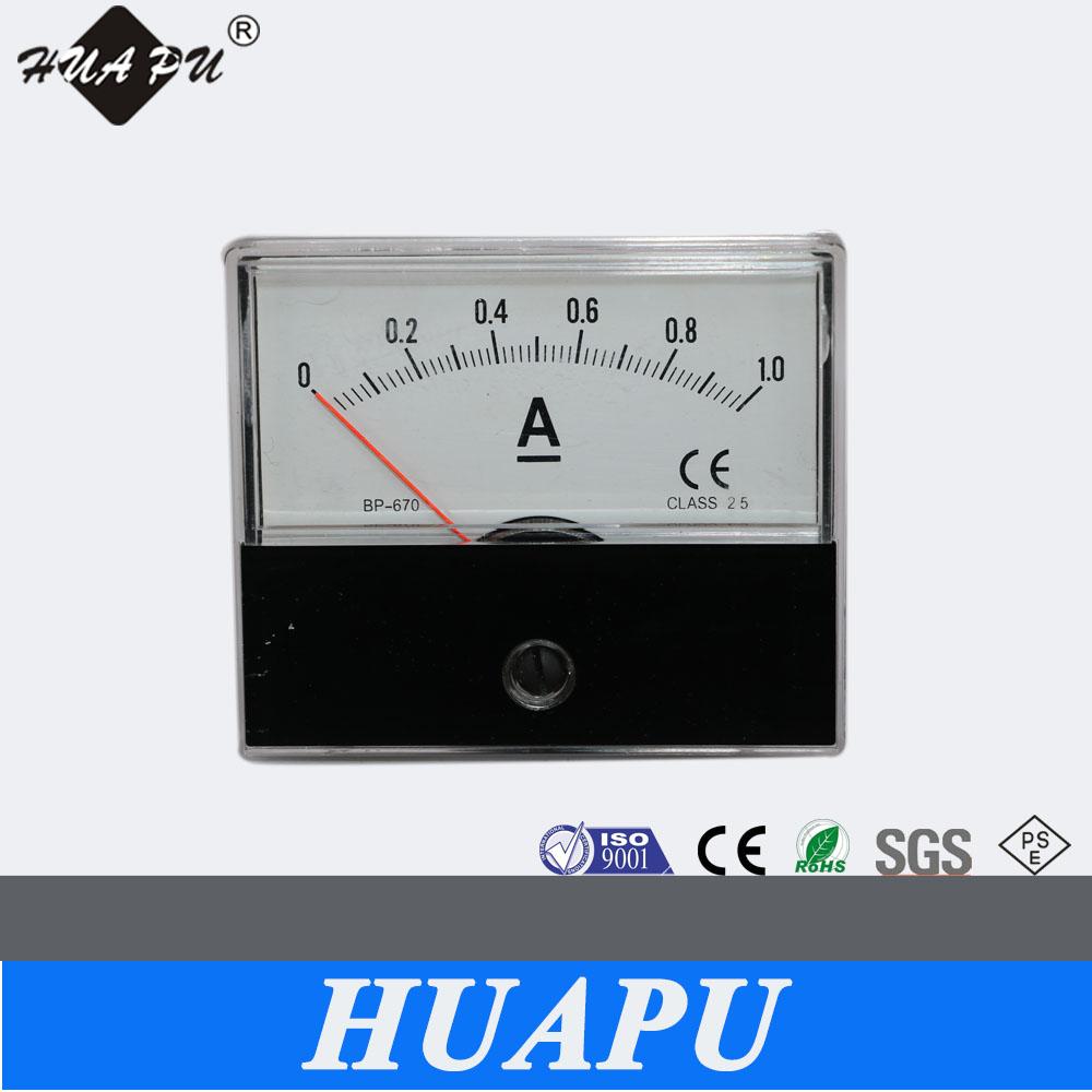 Analog Panel Meter : Manufacturer high quality analog panel meter dc ammeter