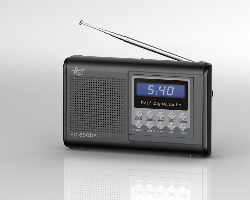 BC-680DA DAB FM Digital Auto Radio With USB MP3 AUX in Computer