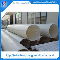 Trade Assurance Manufacturer 700mm white color large diameter plastic pipe on sale,large diameter plastic drain pipe