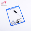 Customized magnetic refrigator board planner magnetic board with mark pen for fridge