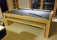 2 in 1 air hockey table with pool table