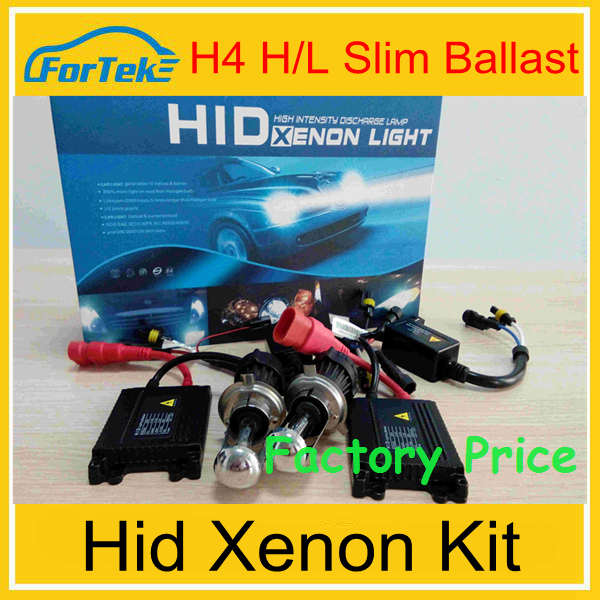 Xenon hid kits china 6000k h4 hid kit 35W/55W wholesale hid kits