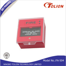 Break Glass Fire Alarm Manual Call Point EmergencyCall Button